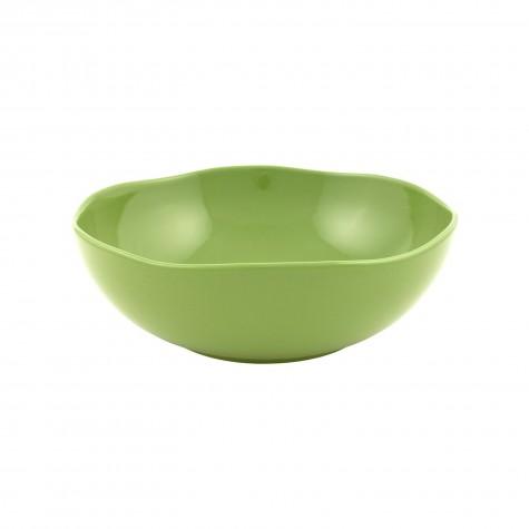 Insalatiera in ceramica verde muschio