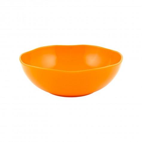Insalatiera in ceramica arancione
