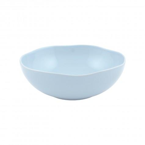 Insalatiera in ceramica azzurro chiaro