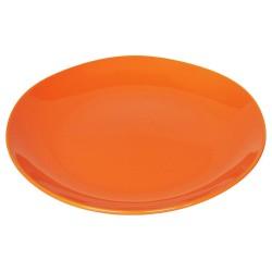 Piatto da portata in ceramica arancione