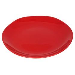 Piatto da portata in ceramica rossa
