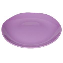 Piatto da portata in ceramica color lavanda