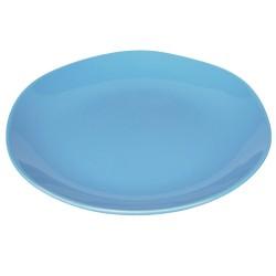 Piatto da portata in ceramica azzurro