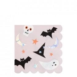 Tovaglioli di carta con icone di Halloween