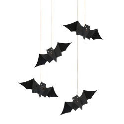 Pipistrelli decorativi di Halloween