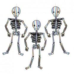 Scheletri olografici di Halloween