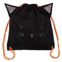 Sacca bimbo fantasia gattino nero