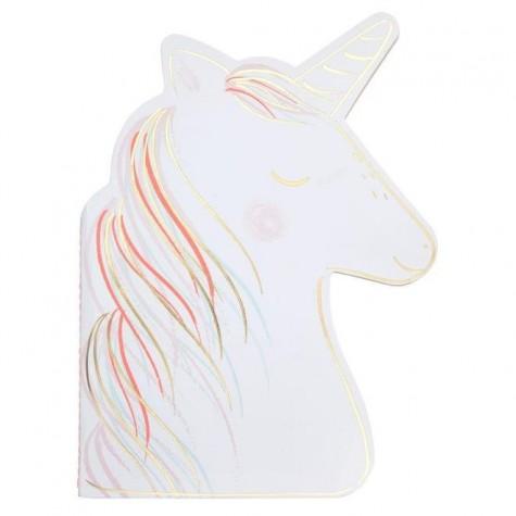 Blocco per schizzi Unicorno con stickers
