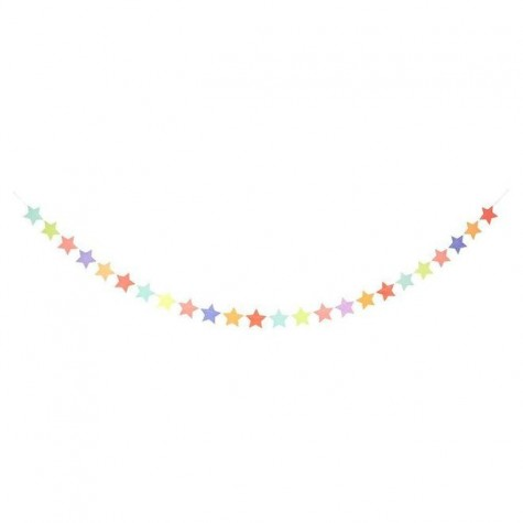 Ghirlanda di stelle colorate