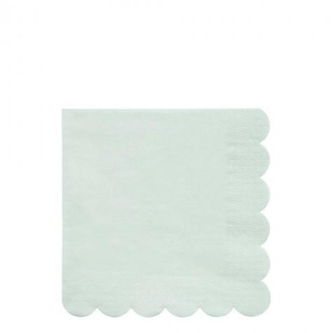 Tovaglioli di carta color menta