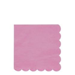 Tovaglioli di carta rosa