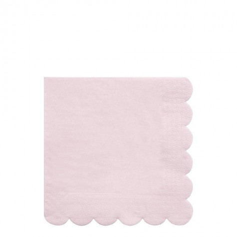 Tovaglioli di carta rosa pastello