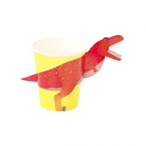 Bicchieri di carta T-Rex
