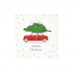Tovaglioli di carta con motivo natalizio