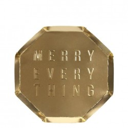 Piattini di carta Merry Everything