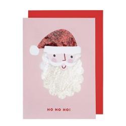 Biglietto di auguri shaker di Babbo Natale
