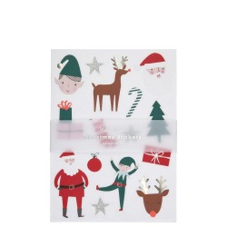 Stickers adesivi natalizi