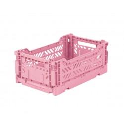 Cesta pieghevole mini - baby pink