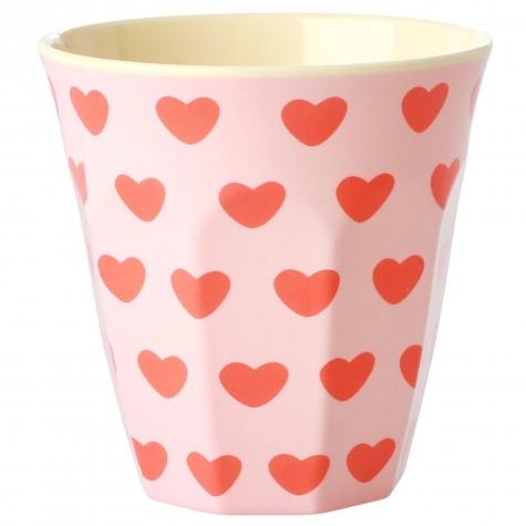 Bicchiere medio in melamina Sweet Hearts