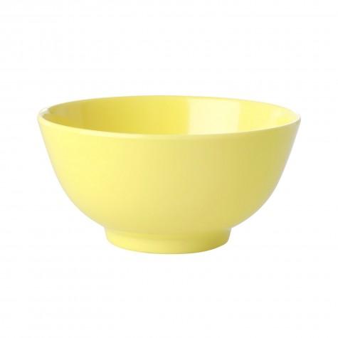 Tazza da colazione in melamina giallo limone
