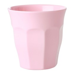 Bicchiere in melamina rosa pallido