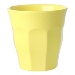 Bicchiere in melamina giallo limone