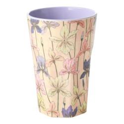 Bicchierone in melamina fantasia iris