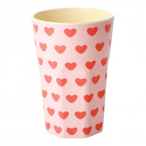 Bicchierone in melamina Sweet Hearts