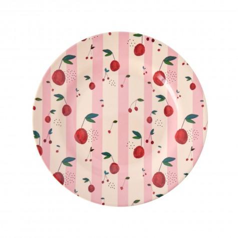 Piatto frutta fantasia ciliegie