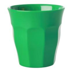 Bicchiere medio verde mela