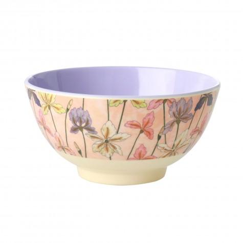 Tazza da colazione in melamina fantasia iris
