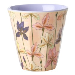 Bicchiere in melamina fantasia iris
