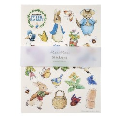 Fogli di stickers adesivi di Peter Rabbit & Friends
