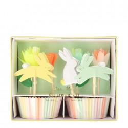Pirottini e decorazioni cupcake di Pasqua