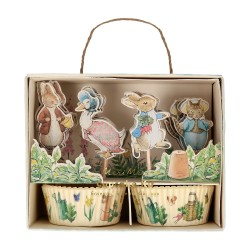 Pirottini e decorazioni cupcake Peter Rabbit & Friends