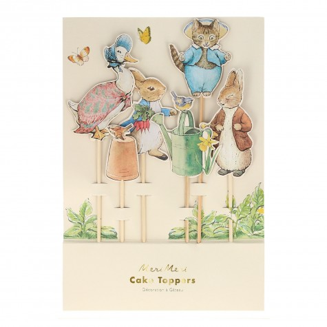 Topper decorativi per torta Peter Rabbit & Friends