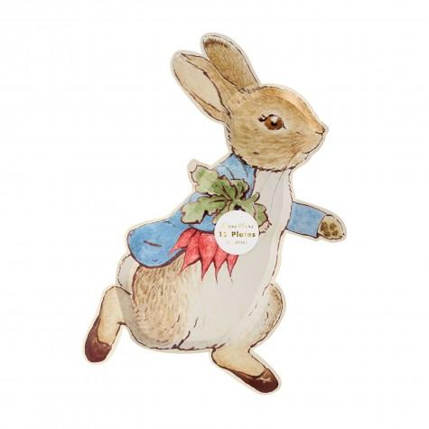Piatti di carta pasquali Peter Rabbit