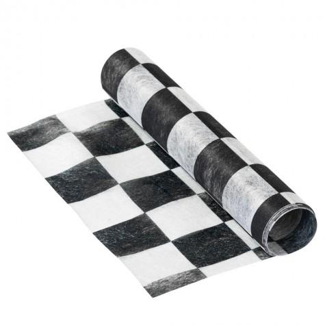 Runner da tavolo fantasia scacchi