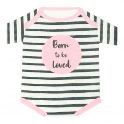 Tovaglioli a forma di pigiamino neonata