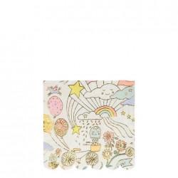 Tovagliolini di carta Happy Doodle