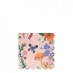 Tovagliolini di carta fantasia floreale Nathalie Lete