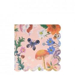 Tovaglioli di carta fantasia floreale Nathalie Lete