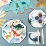 Piatti di carta fantasia dinosauri