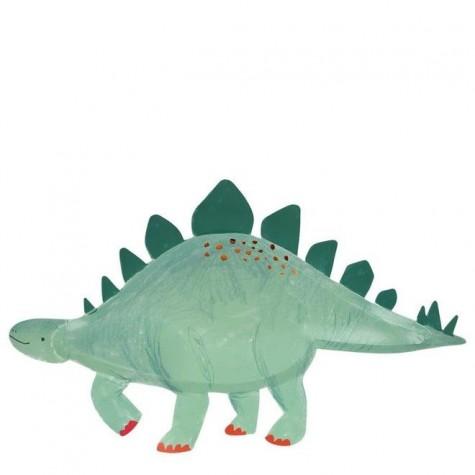 Piatti a forma di stegosauro