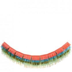 Ghirlanda con frange colorate