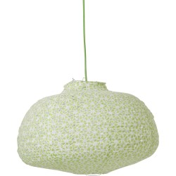 Paralume in tessuto - verde pastello