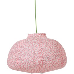 Paralume in tessuto - rosa neon