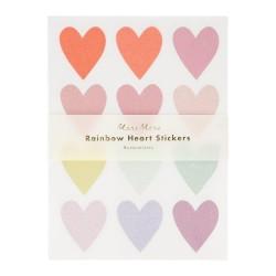 Stickers Cuori Glitter