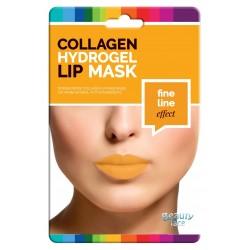 Maschera per labbra al collagene antirughe con oro e acido ialuronico