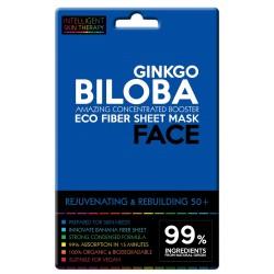 Maschera viso allo Ginkgo Biloba